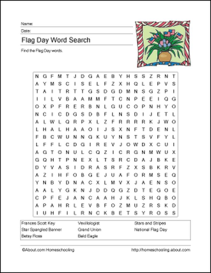 Free Homeschooling Printables for Flag Day: What Is Flag Day?