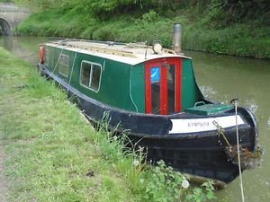 32 foot canal/narrow project boat for sale | eBay