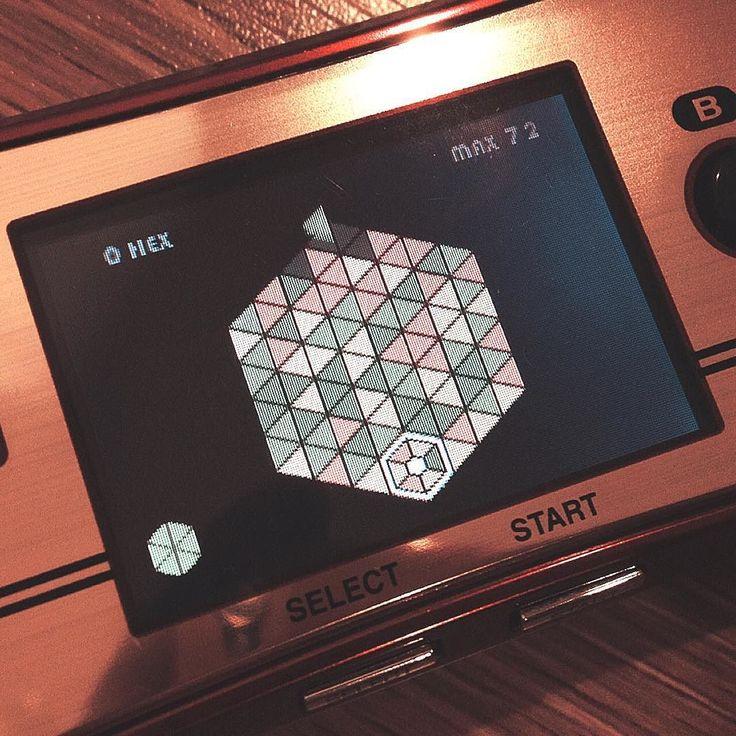 On instagram by musangcom #gameboy #microhobbit (o) http://ift.tt/1TpKgnQ #dialhex  micro #nintendo #videogamegraphics #ゲームボーイ #ゲームボーイミクロ #任天堂 #ファミコン
