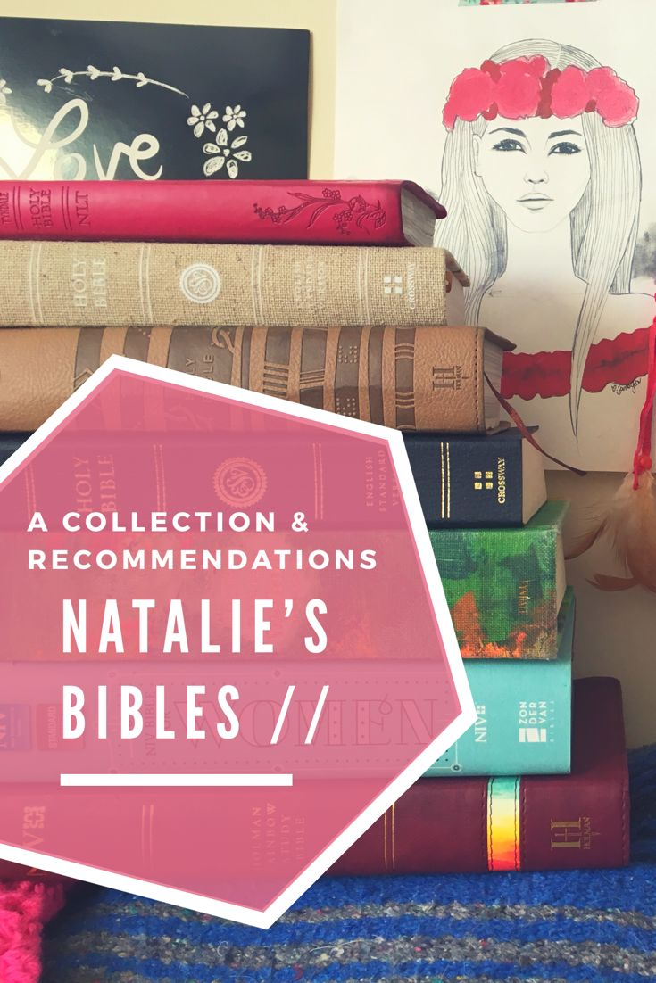 Here's a video of my bible collection and recommendations. Enjoy!