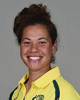 Belinda Vakarewa (b 1998) Australian cricketer; right-arm fast-medium bowler; debuted in Women's One Day International cricket (2017) http://cricket.com.au/players/