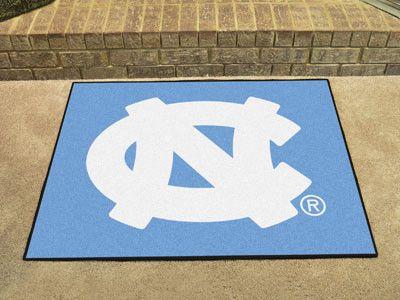 All Star Mat - University of North Carolina Tar Heels NC Logo