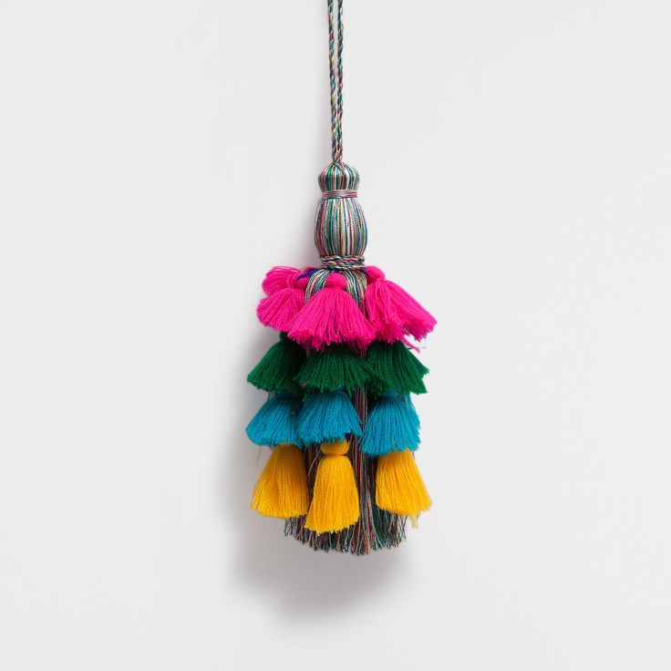 MULTICOLOURED HOLDBACK - Tiebacks - Decoration | Zara Home United Kingdom