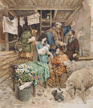 Marius van Dokkum : Bethlehem