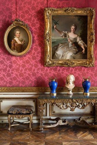 Musée Jacquemart-André. Salon des peintures tableaux.    This is one of my favorite museums in Paris! It is a must see.