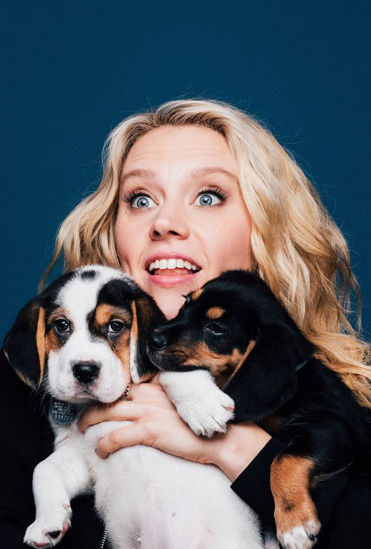 Kate and puppies!!??
