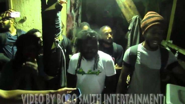 Sizzla, Jah Cure & Chronixx Freestyle at Judgement Yard! 2014