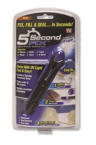 5 Second Fix Liquid Plastic Welding Kit - Fix, Repair and Seal Anything in 5 Seconds