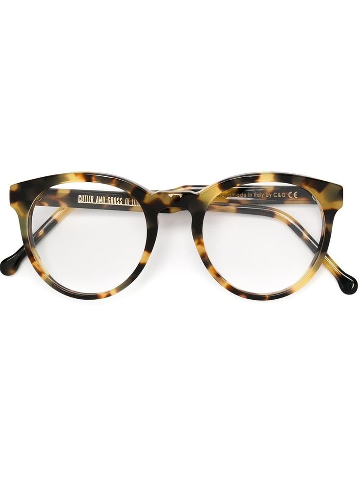 Cutler & Gross Round Frame Glasses - Mode De Vue - Farfetch.com