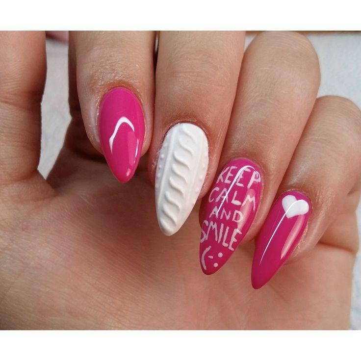 """""""Takie właśnie nagrałam :) #semilac #ilovesemilac #indigo #paznokcie #nails…"""