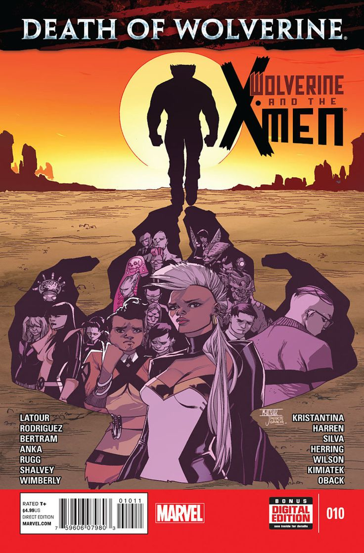 Marvel - Wolverine and the X-Men (2014) #10 1st Print