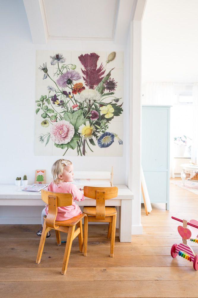 Large botanical poster