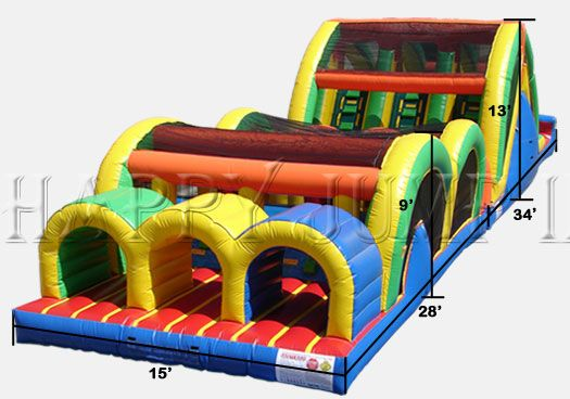 Inflatable Interactive Games: Bouncy Houses on Sale for Spring and Summer Time