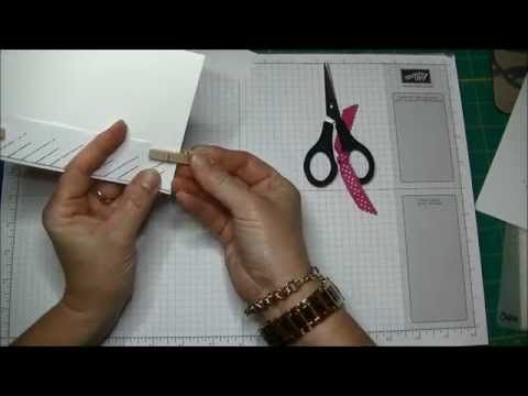 ▶ Stampin' Up! Braided Card Tutorial - YouTube