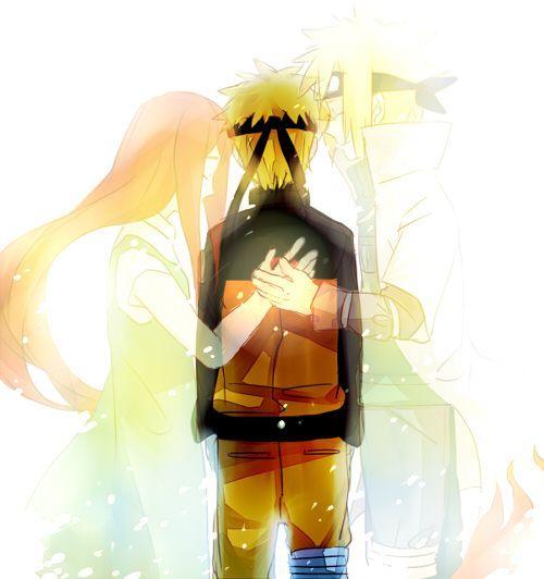 Blog Indo além da caixinha: 50º DIA #desafionaruto naruto, kushina, minato