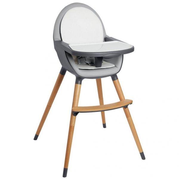 - Chaise haute moderne qui se transforme en chaise pour enfant - Coussin de siège réversible - Siège qui se nettoie avec un chiffon - Harnais de s...