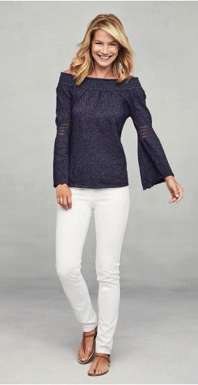 Lucita Off-the-Shoulder Top by J.McLaughlin