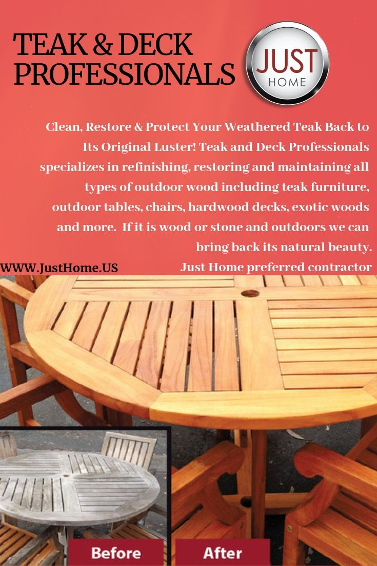 Clean Restore Protect Your Weathered Teak Back To Its Original Luster Teak And Deck Professionals Sp Outdoor Wood Hardwood Decking