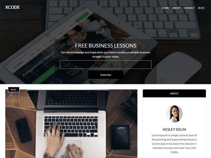 XCode — gratis WordPress thema's