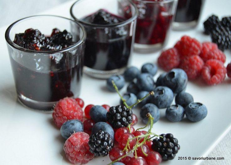 Cum se prepara dulceata de zmeura mure afine fructe de padure Savori Urbane (17)