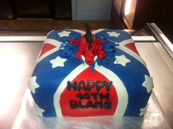 Rebel Flag Birthday Cakes For Girls