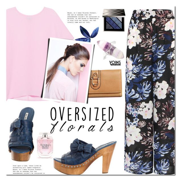 Oversized Florals by mada-malureanu on Polyvore featuring Pinko, Miu Miu, Burberry, Victoria's Secret and oversizedflorals