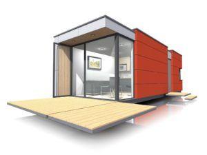 Nowoczesne domki letniskowe SmartMod | Idea Domu