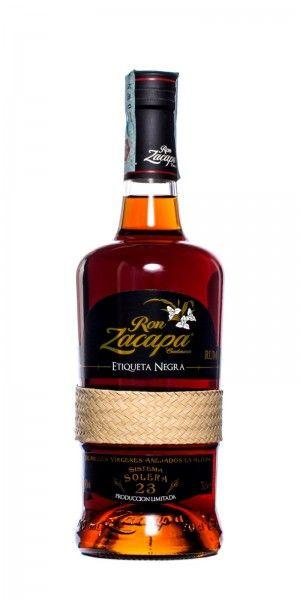 Ron Zacapa Centenario Etiqueta Negra 23 y.o.