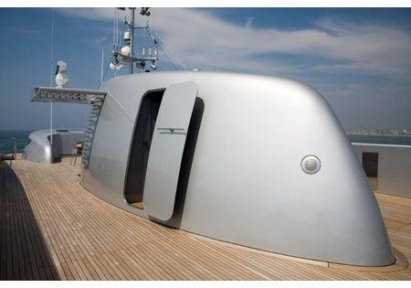 Blue Ice yacht (Baglietto Yachts) Italy Exterior design by Studio Cichero srl