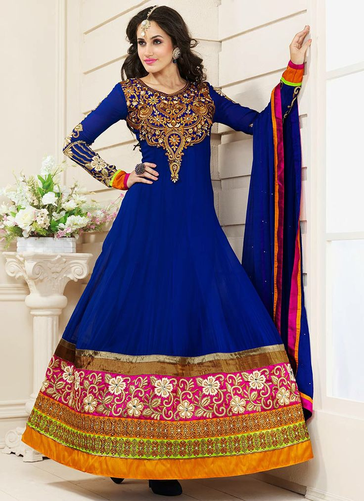 Latest indian anarkali dresses indian anarkali and for Latest fashion dresses for weddings