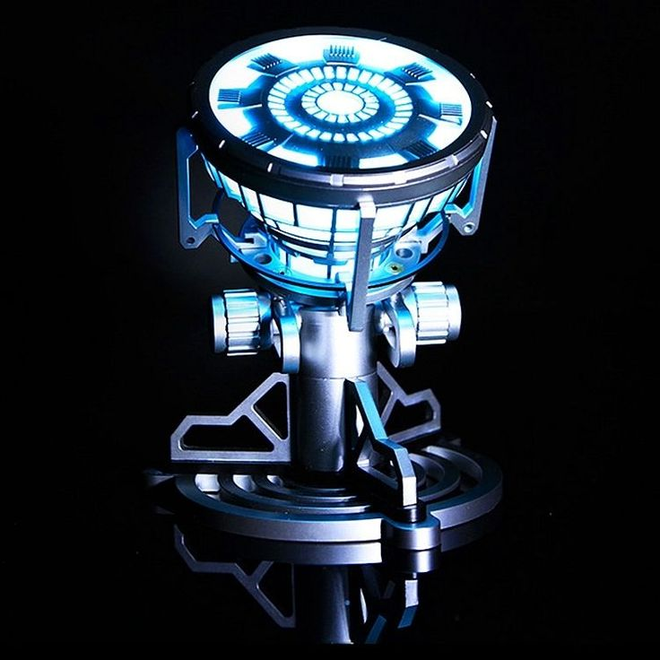 Iron Man Arc Reactor with LED Light Figure Legend 1:1 Scale Model Tony Stark MK3 #UrGifts