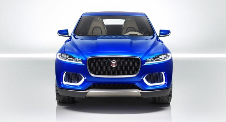 Jaguar C-X17 Crossover Concept. Первое живое фото ...