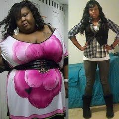 Ruth a.k.a DivaSlimsDown on Youtube. She is so inspiring. I've started my own weight loss journey because of her.