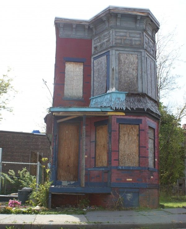 Abandoned Home in Newburgh,NY.