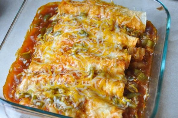 Easy Chicken Enchiladas for Two & Meal Planning — Nutritious Eats  Very good, made in January 2013 for first time. Didn't include the green peppers.