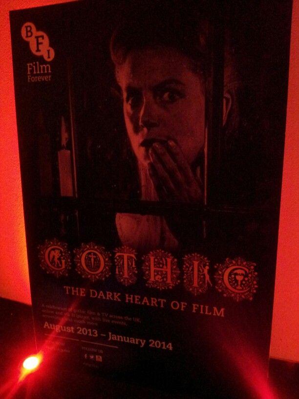 Poster for gothic series at BFI   Gothic SeriesBfi FilmFilm Festival. 17 Best images about BFI Film Festival on Pinterest   London film