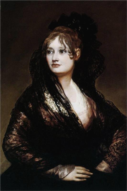 Dona Isabel de Porcel, 1806  Francisco Goya.