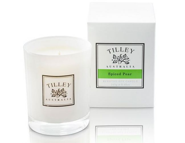 Spiced Pear Soy Candle