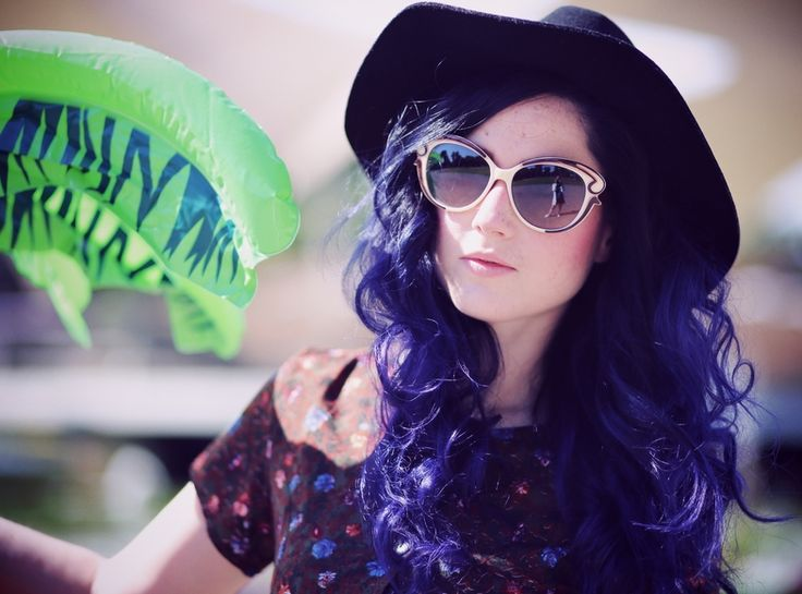 Purple Hair, Directions Plum, Colorful Hair, Violet Hair, Crazy Hair Colors, Directions Violet