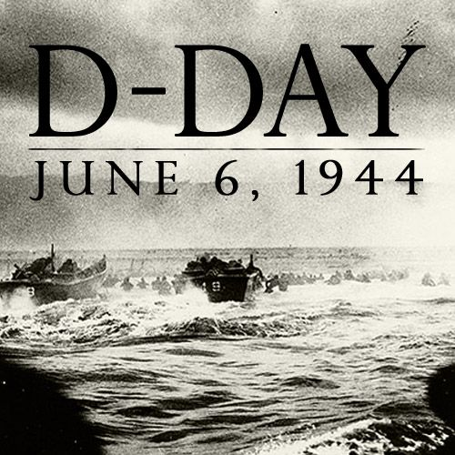Operation Overlord, (also known as D-Day), began on June 6, 1944, when some 156,000 American, British and Canadian forces landed on five beaches along a 50-mile stretch of the heavily fortified coast of France's Normandy region.  The invasion was one of the largest amphibious military assaults in history and required extensive planning.