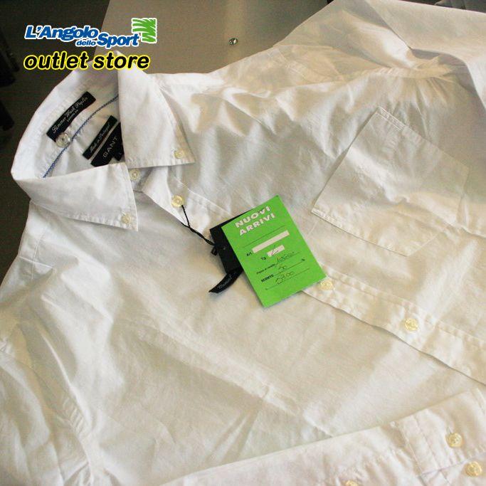 Grandi affari all'Outlet L'Angolo dello Sport in Via del Ponte Pisano 50! Camicia #Gant -50%!