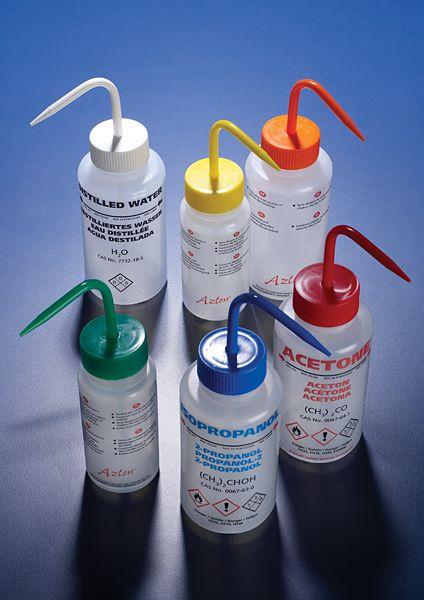 Spritzflaschen aus LDPE mit Aufdruck