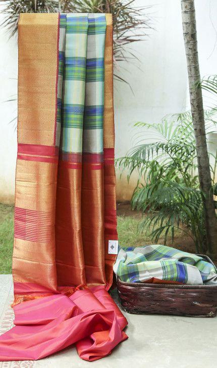 Kanchivaram Silk L01621 | Lakshmi