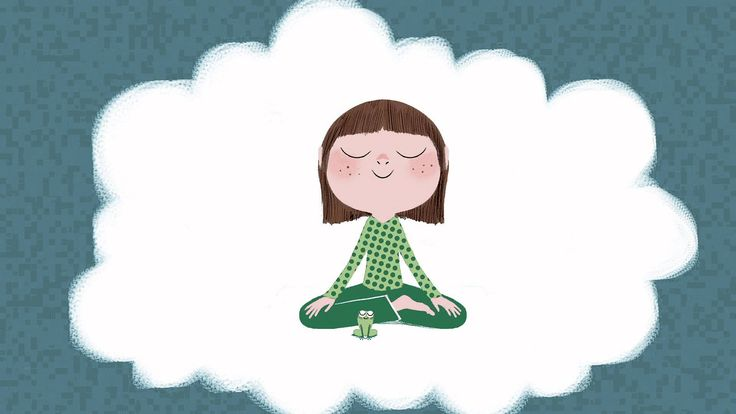 """Méditation pour les enfants de 4 à 10 ans. Extrait du livre """"Calme et attentif comme une grenouille"""" d'Eline Snel (éditions Les Arènes). Un livre, une méthod..."""