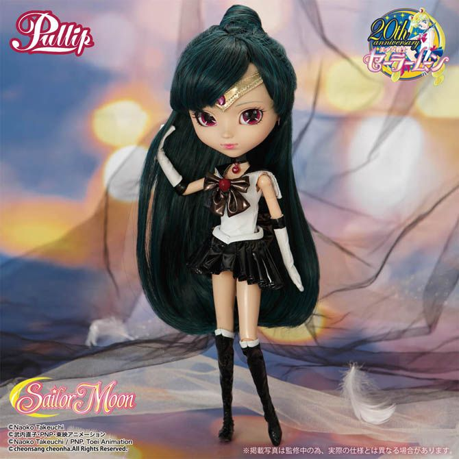 Official high quality Sailor Moon Sailor Pluto Pullip Doll! Links here http://www.moonkitty.net/where-to-buy-sailor-moon-pullip-dolls.php