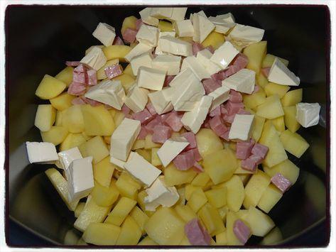 Pommes de terre à la vache qui rit (cookéo
