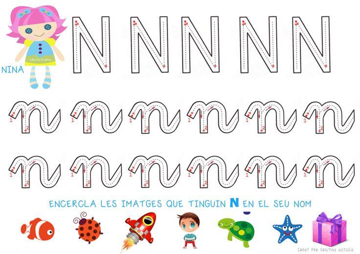 Grafo de la lletra N Espero que us agradi :)