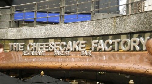 The Cheesecake Factory ~ Chicago, IL