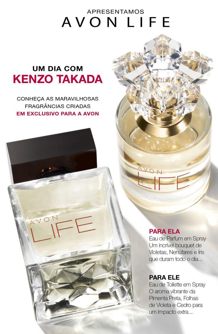 AVON Life | fragrâncias criadas em exclusivo para a AVON