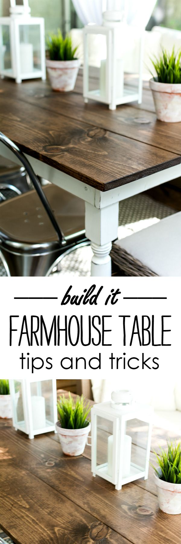 I Built A Farmhouse Table - It All Started With Paint